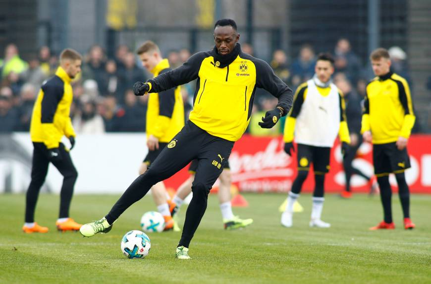Bolt has a lot of work to do: Dortmund coach