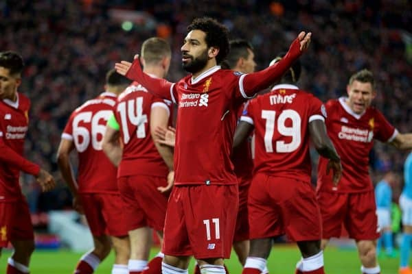 Liverpool's final squad for Champions League final announced