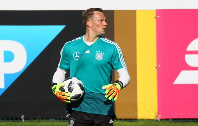 German Goalkeeper Neuer expected to play after lengthy injury layoff