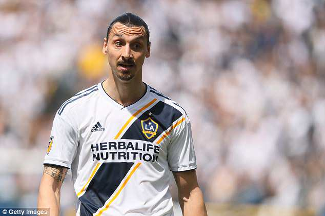 Watch: Zlatan Ibrahimovic receives red card for slapping opponent