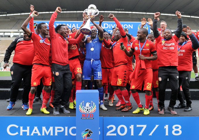 Delight for Kapini as they finally hoist the trophy for NFD title