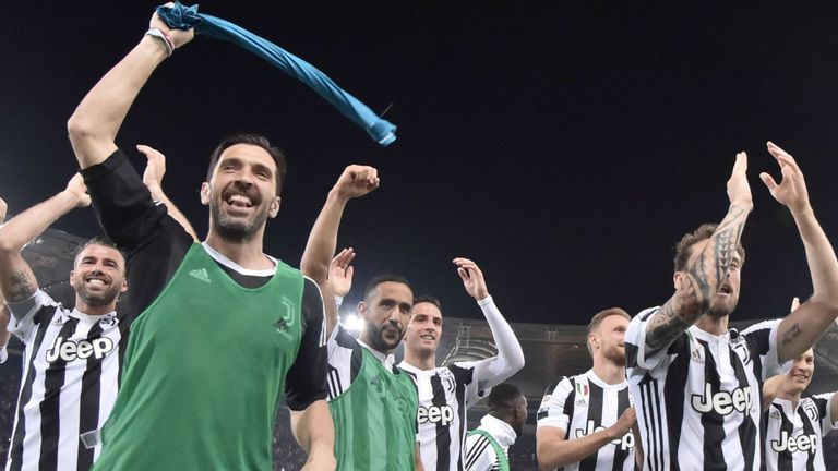 Juve win seventh Serie A title in a row
