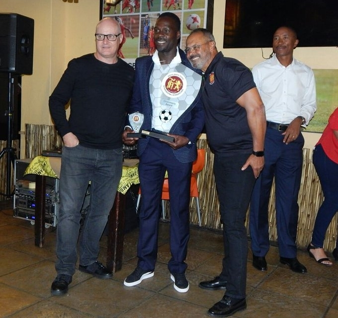 Kapini scoops Highlands Park chairman's award