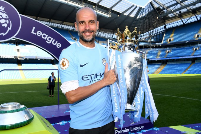 Pep Guardiola is the EPL Manager of the Season