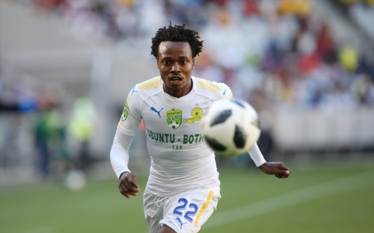 Percy Tau emerged the biggest winner at the SA PSL awards