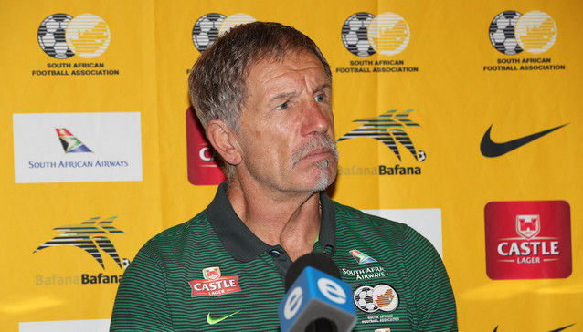 Baxter names Bafana Bafana squad for AFCON qualifier