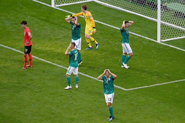 Group F: Germany Knocked out with South Korea defeat, Sweden secure top spot with big win over Mexico