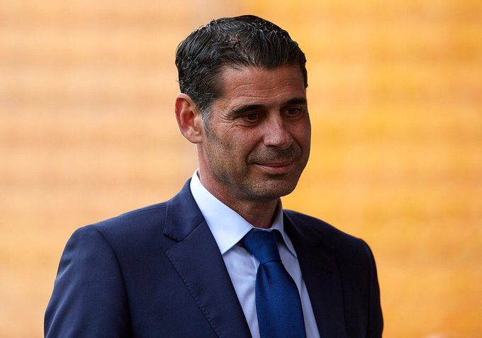 Fernando Hierro steps down as Spain coach
