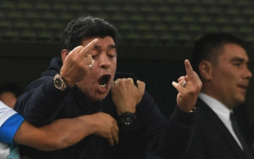 Maradona Could be Stripped Of FIFA Ambassadorship