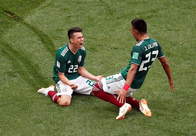 Germany stunned by Mexico's 1-0 victory