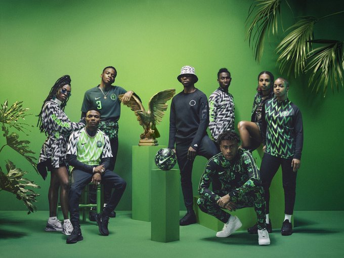 Nigeria 's Home World Cup Kit Sells Out Within Minutes
