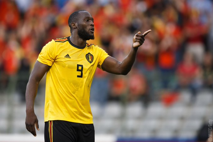 Romelu Lukaku hailed as the best striker in the World by Belgium coach Roberto Martinez