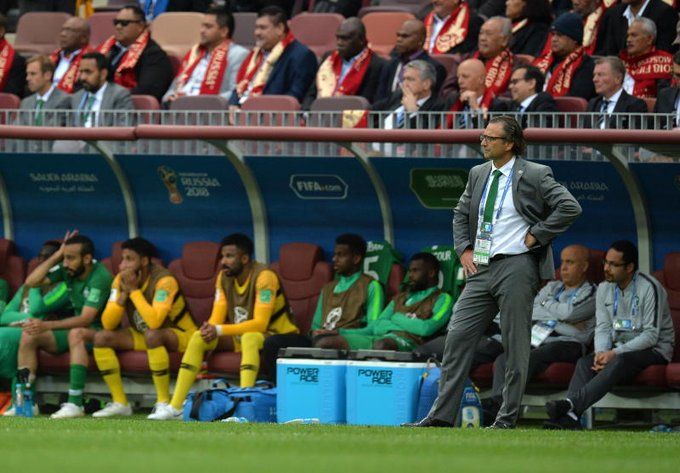 Saudi coach feels the shame in heavy defeat