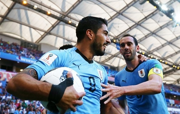 Uruguay secure Knockout spot with narrow win over Saudi Arabia