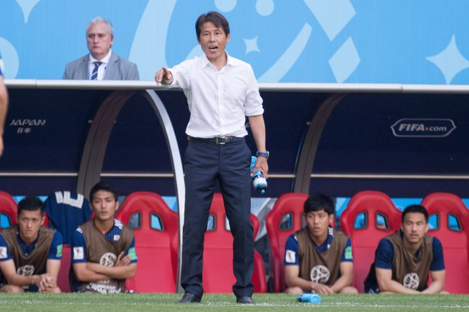 Japan coach Akira Nishino stunned by the manner they lost against Belgium