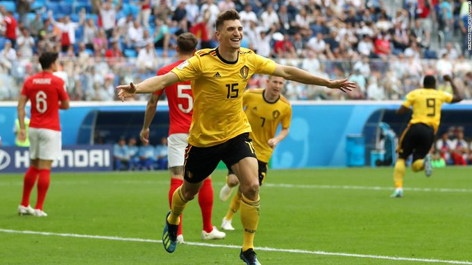 Belgium beat England to finish third in World Cup 2018