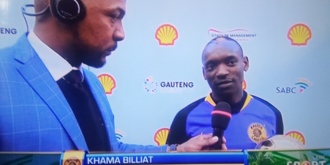 Khama Billiat earns man of the match despite loss in Cup game