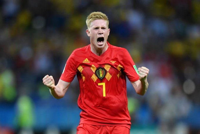 World Cup: Belgium Knock out Brazil in Quarterfinal to reach semis
