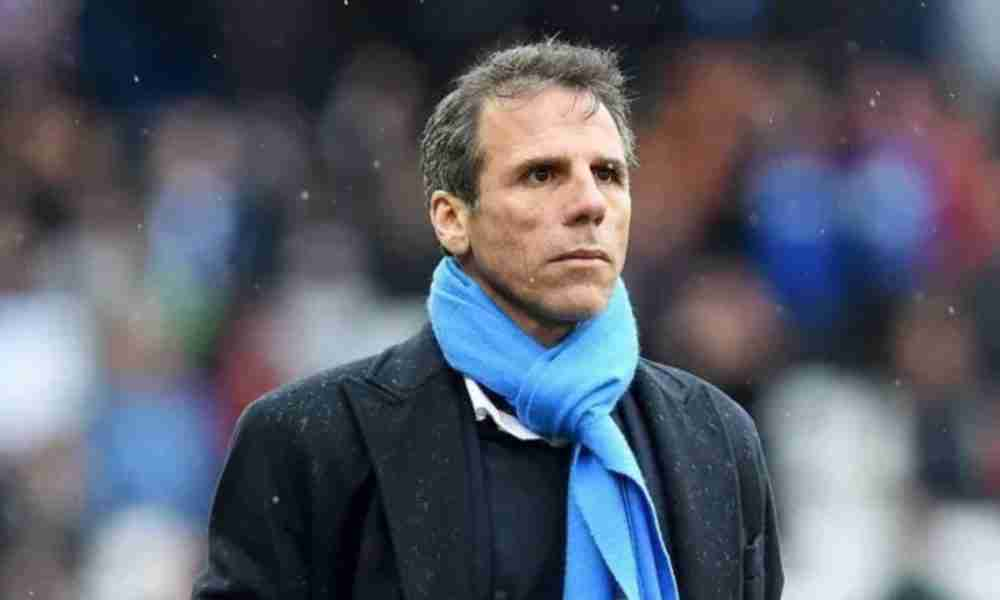 Gianfranco Zola joins Chelsea as Maurizio Sarri's assistant coach