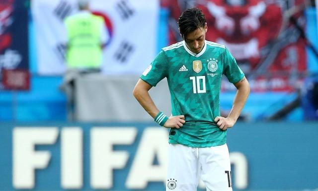 German FA boss admits to Ozil mistakes