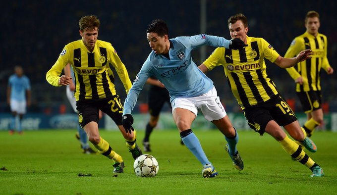 Borussia Dortmund beat Manchester City in pre-season friendly