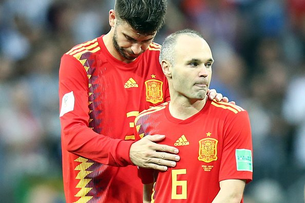 Iniesta confirms his retirement after Spain exit the World Cup