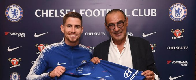 Chelsea have confirmed the signing of Jorginho from Napoli
