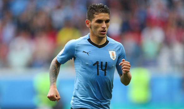 Uruguay international Lucas Torreira joins Arsenal