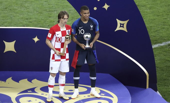 FIFA World Cup 2018: Modric wins Golden Ball, Kane takes home Golden Boot