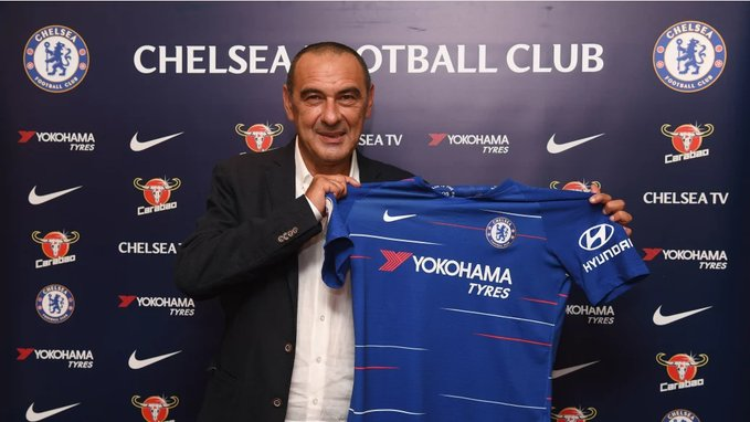 Maurizio Sarri announced as new Chelsea head coach |