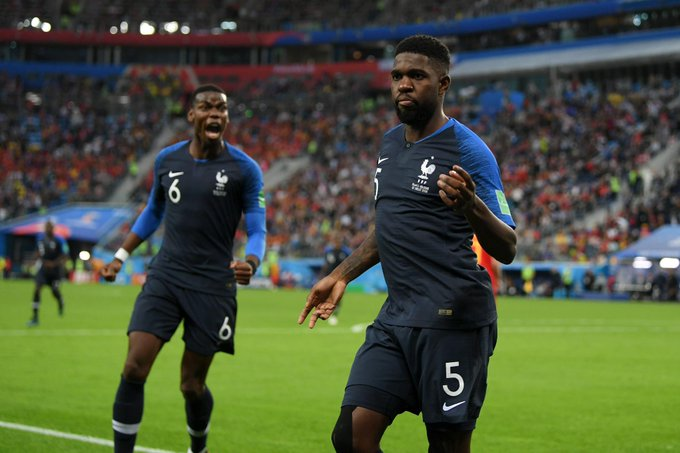 France beat Belgium to march to the final of the 2018 World Cup Final