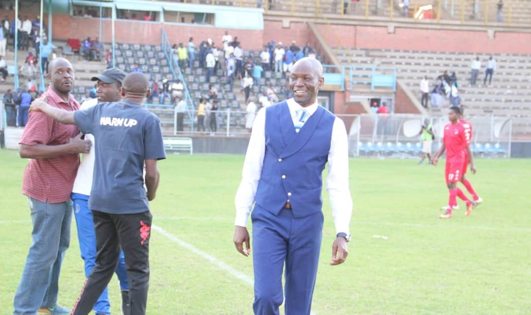 Mutasa disappointed!