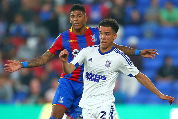 Tristan Nydam leaves Ipswich Town on loan