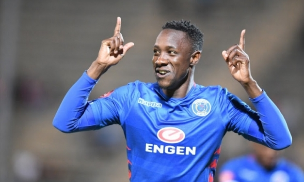 Rusike, Billiat tied in second on S.A scorers' chart