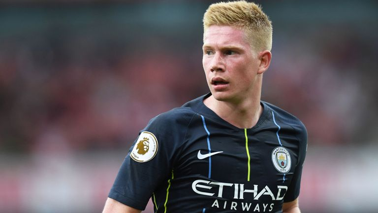 Kevin De Bruyne out for three months