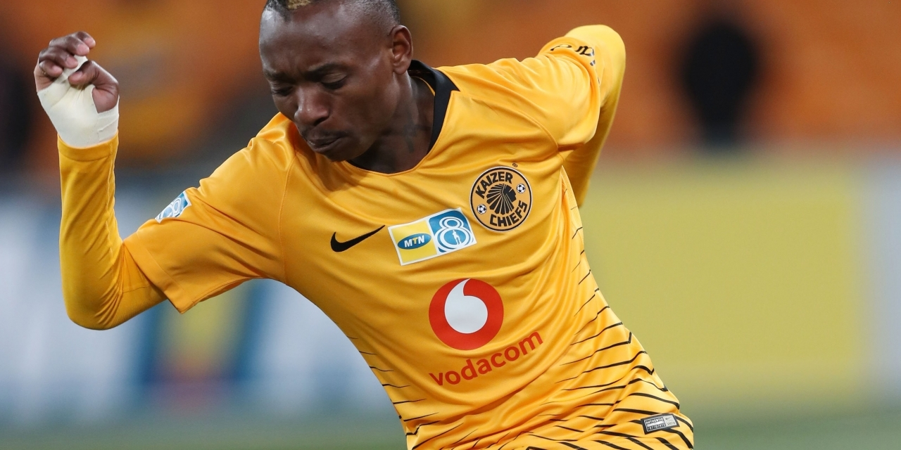 Billiat ends goal drought