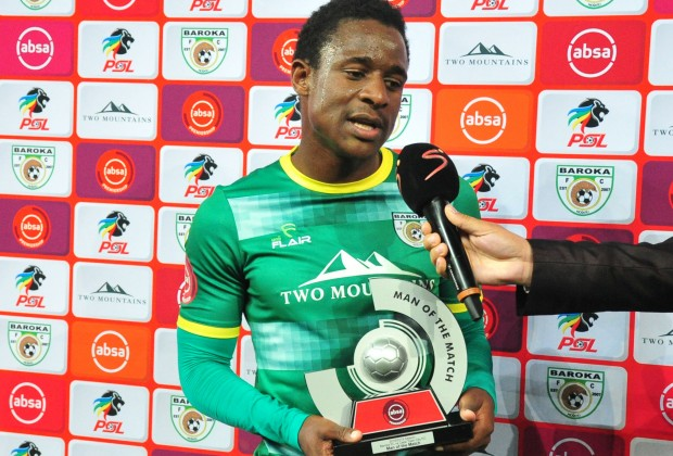 Chawapiwa not leaving Baroka in January: Club CEO