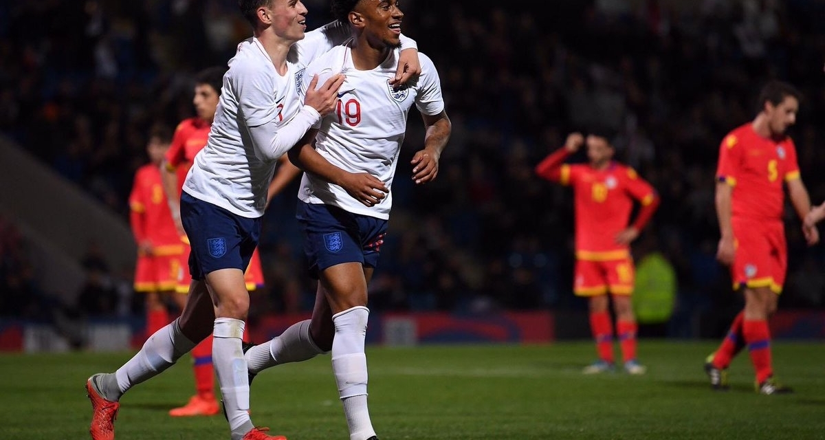 Video: Warriors hopeful scores fantastic goal for England