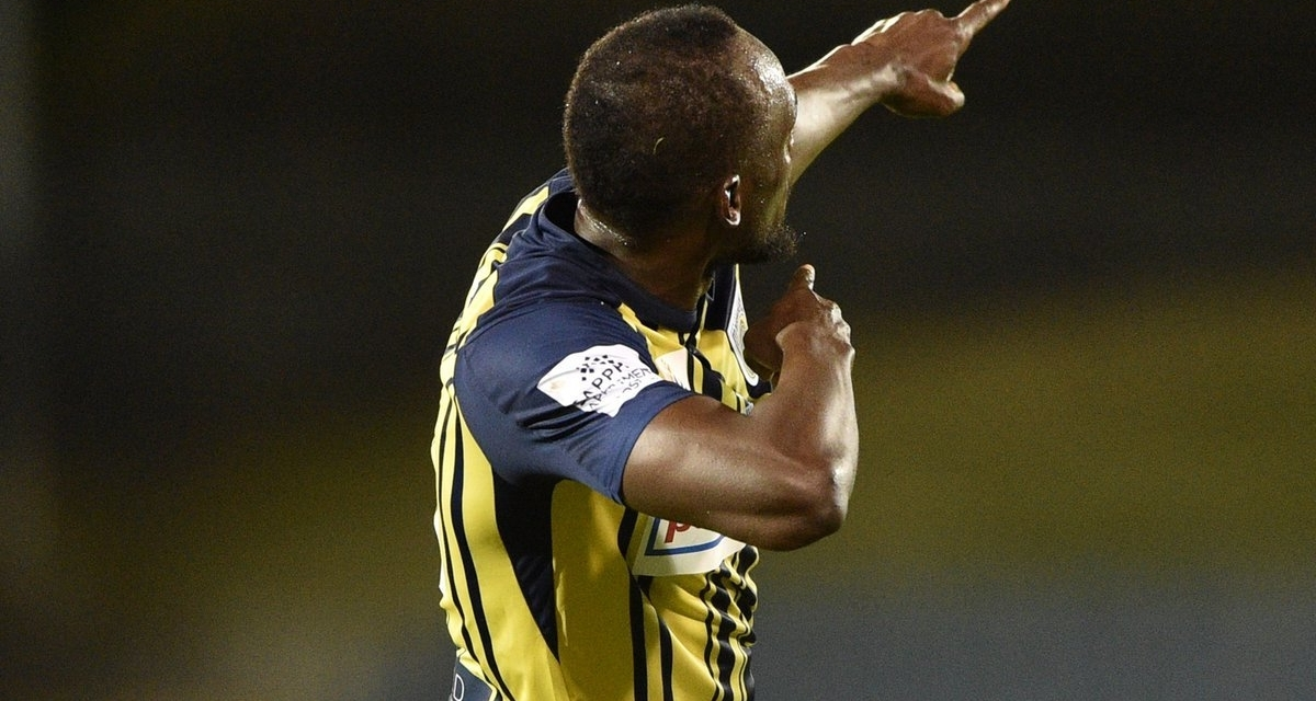 Watch: Usain Bolt scores first professional football goal