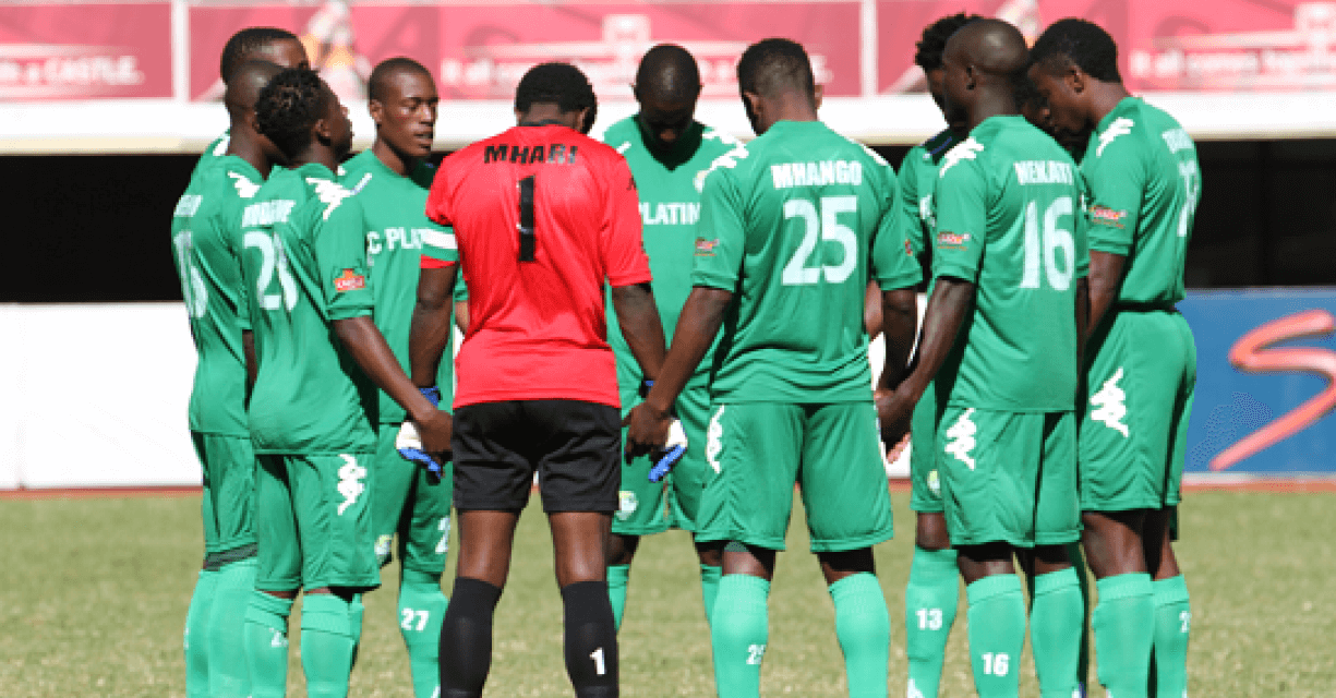 FC Platinum arrive in Mozambique