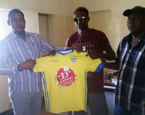 Mutuma joins new club in DRC
