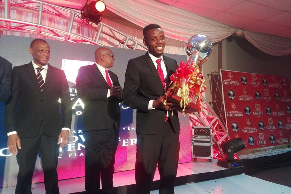 Chinyengetere named 2018 best player