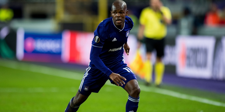 Musona features for Anderlecht