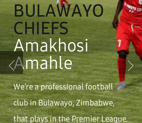Bulawayo Chiefs launch website