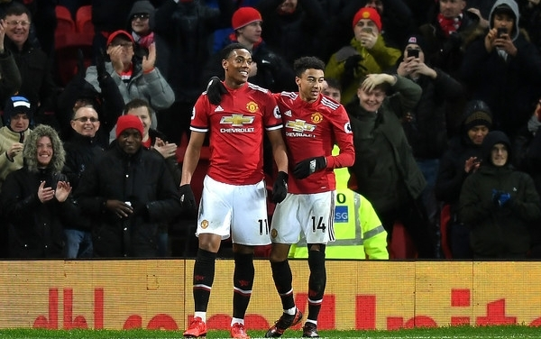 Anthony Martial and Jesse Lingard to miss Chelsea, Liverpool games
