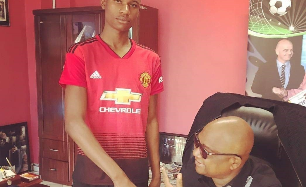 Zimbabwean 'Rashford' off to Manchester