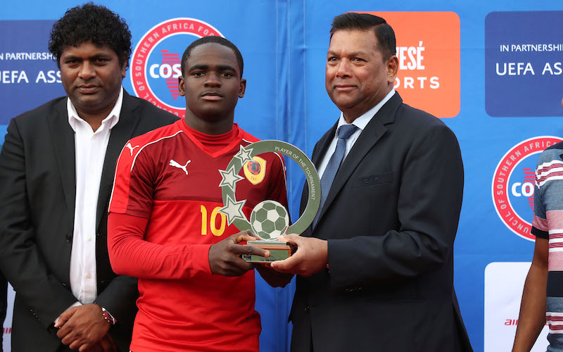 COSAFA youngster set for trials at Manchester United