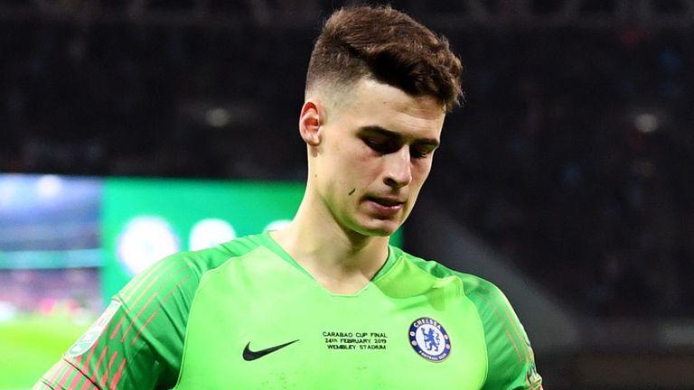 Chelsea hit Kepa with fine