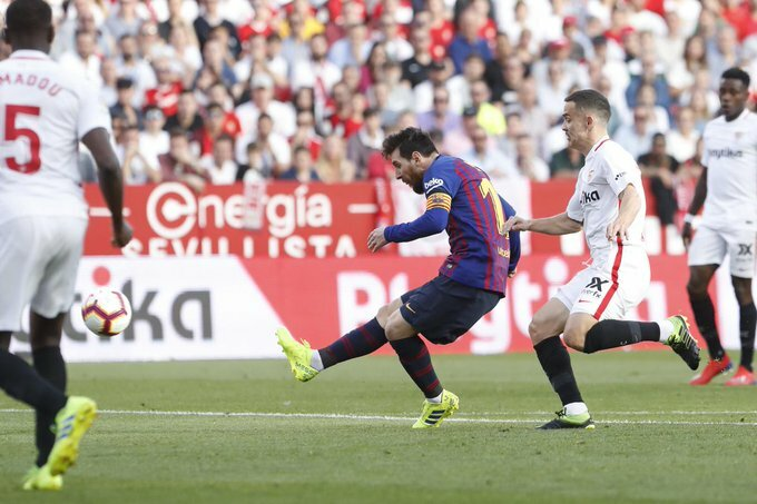 Messi grabs 50th career hat-trick in Barca win over Sevilla