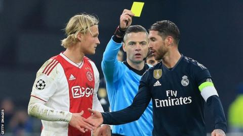 Uefa hands Ramos extra ban for deliberate booking in C.L game
